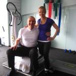 Dierk & Ich nach dem Training