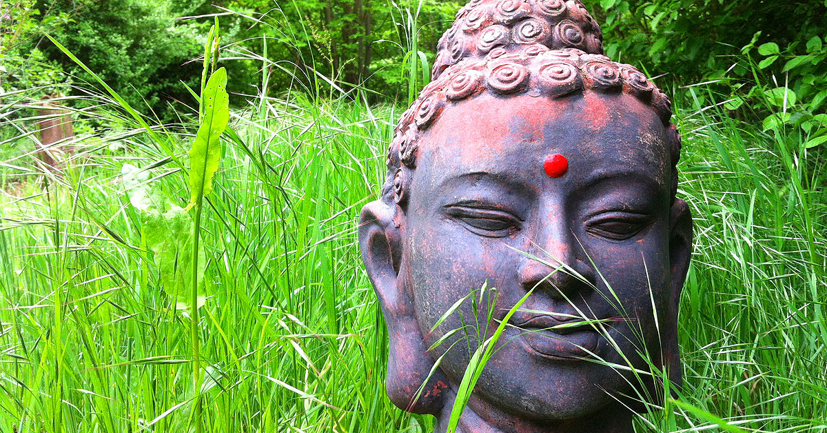 Buddha Frühling