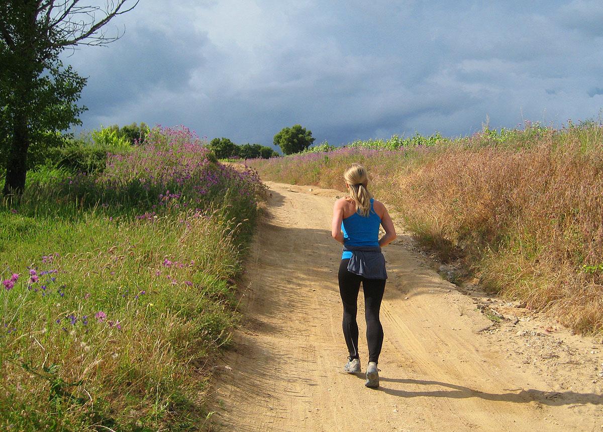Jogging Urlaub